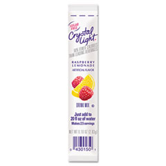 Crystal Light On the Go, Raspberry Lemonade, .16oz Packets, 30/Box