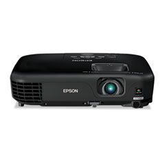 Epson PowerLite 1261W Multimedia Projector, 2800 Lumens, 1280 x 800 Pixels, 1.2x Zoom