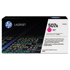 Genuine HP Laserjet Enterprise 500 Color M551 / M570 / M575 MAGENTA CE403A (HP 507A) Toner Cartridge