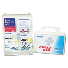 PhysiciansCare Office First Aid Kit, for Up to 25 People, 131 Pieces