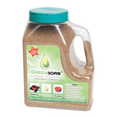 GreenSorb Eco-Friendly Sorbent, Clay, 4-lb Shaker Bottle