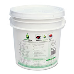 GreenSorb Eco-Friendly Sorbent, 10-lb. Bucket