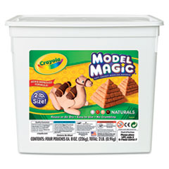 Crayola Model Magic Modeling Compound, Natural, 2 lbs.