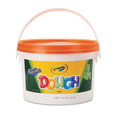 Crayola Modeling Dough Bucket, 3 lbs., Orange