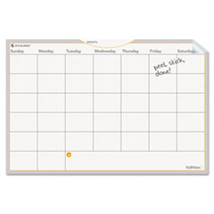 AT-A-GLANCE WallMates Self-Adhesive Dry Erase Monthly Planning Surface, 36 x 24, White