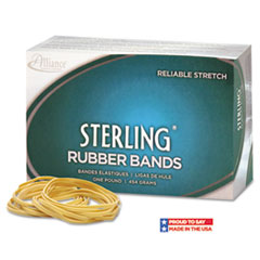 Alliance Sterling Ergonomically Correct Rubber Bands, #18, 3 x 1/16, 1900 Bands/1lb Box