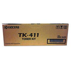Kyocera TK411 Toner, 15,000 Page-Yield, Black