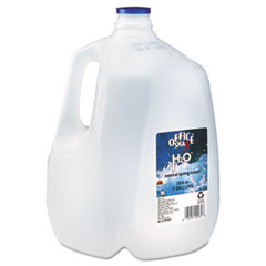 Office Snax Bottled Spring Water,gal, 3/Carton