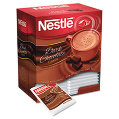 Nestl� Instant Hot Cocoa Mix, Dark Chocolate, .71oz, 50/Box