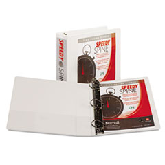 Samsill Speedy Spine Angle-D Ring View Binder, 11 x 8-1/2, 2