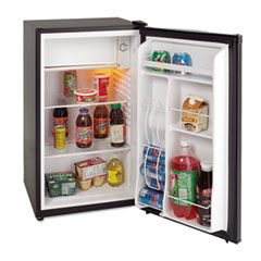 Avanti 3.4 Cu. Ft. Refrigerator with Chiller Compartment, Black
