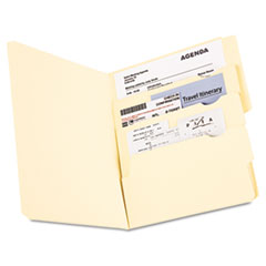 Pendaflex Divide it Up File Folder, Multi Section, 1/2 Cut Tab, Letter, Manila, 24 pack