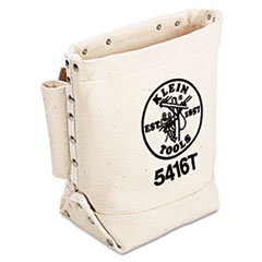 Klein Tools® BAG BULL-PIN-BOLT W-LOOP Bull-Pin And Bolt Bag With Tunnel Loop, Canvas