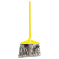 Rubbermaid Commercial Angled Large Broom, Poly Bristles, 46 7/8