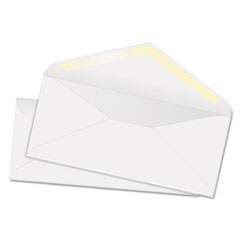 Quality Park White Wove Business Envelope Convenience Packs, V-Flap, #10, Recycled, 100/Box