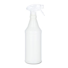 AbilityOne 8125015770210 Spray Bottle Applicator, Opaque, Trigger-Type, 24oz, 3/Pack