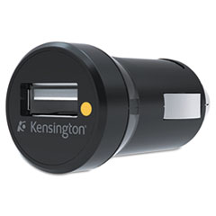 Kensington USB Car Charger, 5 Volt, Black
