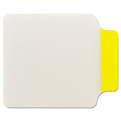 Post-it Durable Note Tabs, 2 3/4 x 3 3/8, Yellow, 10/PK