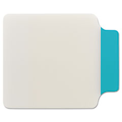 Post-it Durable Note Tabs, 2 3/4 x 3 3/8, Aqua, 10/PK