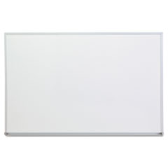 UNV 43623 Universal Melamine Dry Erase Board with Aluminum Frame UNV43623