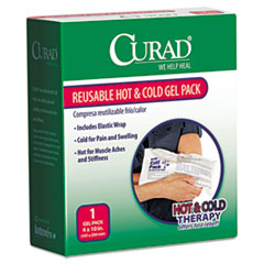 Curad Reusable Hot & Cold Pack, w/Protective Cover, 1 each