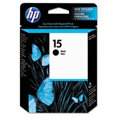 C6615DN (HP 15) Ink Cartridge, 603 Page-Yield, Black
