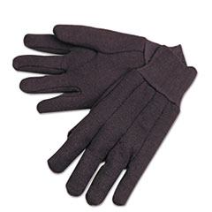 Anchor Brand® GLOVES BRN FLEECE LINED N 755c Jersey Gloves, Brown, Fleece Lined, Men's