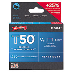 ARR 504 Arrow T50 Heavy Duty Staples ARR504