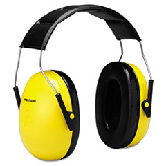3M™ EARMUFFS STD PRSNL HEARPR Optime 98 H9a Earmuffs, 25 Db Nrr, Yellow-black