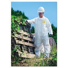 DuPont® COVERALL ZIP FRT LGE Proshield Nexgen Coveralls, Zip Closure, Large