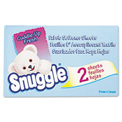 Snuggle Vend-Design Fabric Softener Sheets, Fresh Scent, 2 Sheets/Box, 100 Boxes/Carton