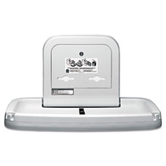 Koala Kare Horizontal Baby Changing Station, 35 3/16 x 22 1/4, Cream