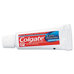 Colgate Toothpaste, Personal Size, .85oz Tube, Unboxed, 240/Carton