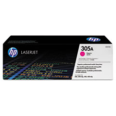 HP 305A (CE413A) Magenta Original LaserJet Toner Cartridge for LaserJet Pro 300 color MFP M375nw, 400 color MFP M475 / M451