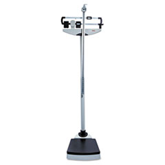 Medline Classic Mechanical Beam Scale, 500lb Capacity, 13-3/4 x 14-1/4 Platform