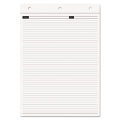 Day-Timer Magna Pad Note Pad Refill, Narrow, 8 1/2 x 12, White, 70 Sheets, 2/Pack