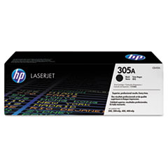 HP 305A (CE410A) Black Original LaserJet Toner Cartridge for LaserJet Pro 300 color MFP M375nw, 400 color MFP M475 / M451