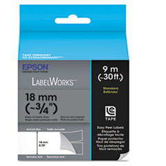 Epson LabelWorks Standard LC Tape Cartridge, 3/4