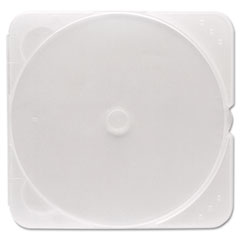 Verbatim TRIMpak CD/DVD Case, Clear, 200/Pack