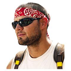 ergodyne® HEADGEAR BNDNA-HDBND RD Chill-Its 6700-6705 Bandana-headband, One Size Fits All, Red Western