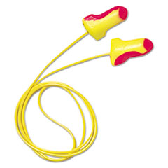 Howard Leight® by Honeywell EARPLUGS LL MULTI CLR 500 Ll-30 Laser Lite Single-Use Earplugs, Corded, 32nrr, Magenta-yellow, 100 Pairs
