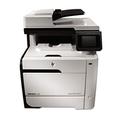 HP LaserJet Pro 300 Color MFP M375nw Wireless Laser Printer, Copy/Fax/Print/Scan
