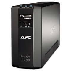 APC Back-UPS Pro 700 Battery Backup System, 700 VA, 6 Outlets, 355 J