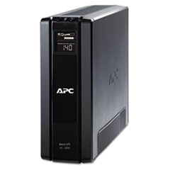 APC Power-Saving Back-UPS XS Backup System, 1300VA, 10 Outlets, 355 J