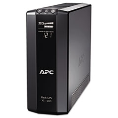 APC Power-Saving Back-UPS XS Backup System, 1000VA, 8 Outlets, 420 J