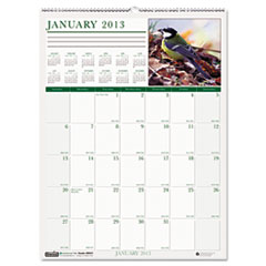 House of Doolittle Wild Birds Monthly Wall Calendar, 12 x 12, 2014