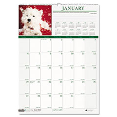 House of Doolittle Puppies Monthly Wall Calendar, 12 x 12, 2014