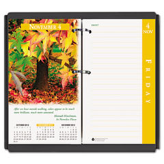 House of Doolittle Earthscapes Daily Calendar Refill, 3-1/2w x 6h, 2013