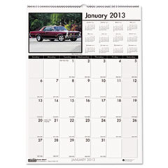 House of Doolittle Classic Cars Monthly Wall Calendar, 12 x 16-1/2, 2013