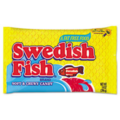 Swedish Fish Candy, Original Flavor, Red, 14oz Dispenser Box
